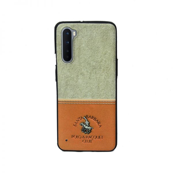 OnePlus Nord Santa Barbara Brown Soft Printed Case