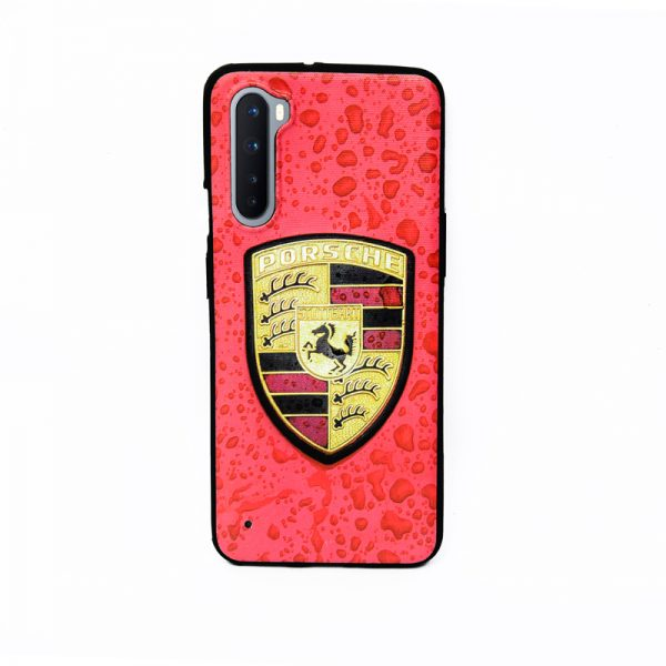 Oneplus Nord Soft Case Red Porsche Logo