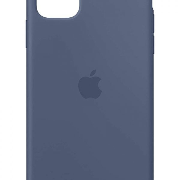iPhone 11 Silicone Case Blue Color