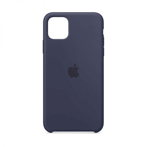 iPhone 11 Silicone Case Midnight Blue Color