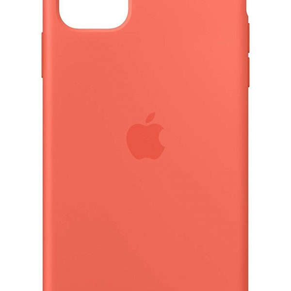 iPhone 11 Silicone Case Orange Color
