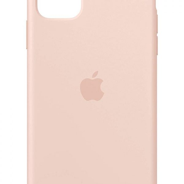iPhone 11 Silicone Case Pink Sand Color