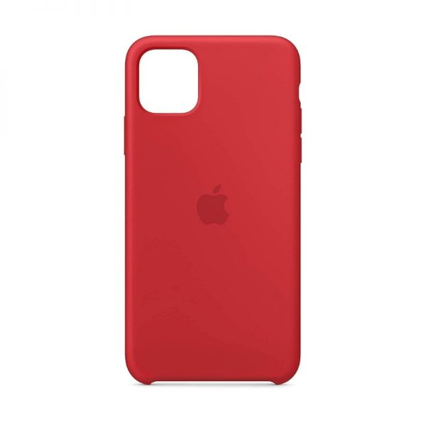 iPhone 11 Silicone Case Red Color