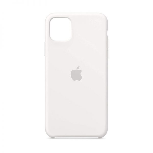 iPhone 11 Silicone Case White Color