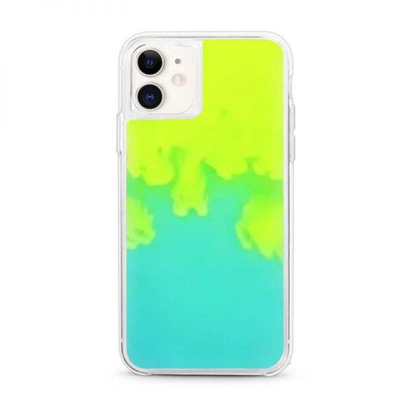 iPhone 11 neon sand case Lime Sorbet