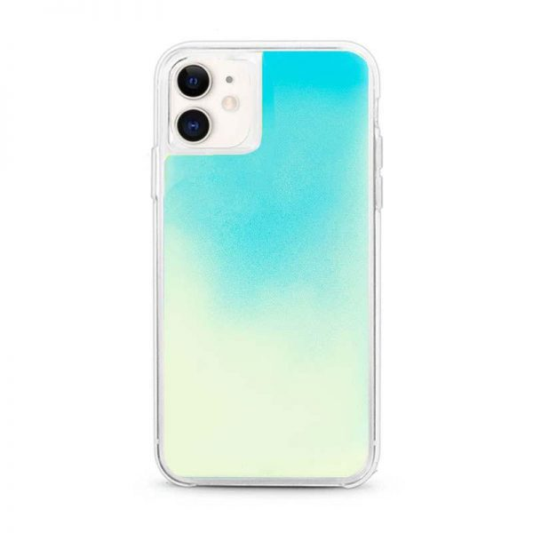 iPhone 11 neon sand case blue lagoon