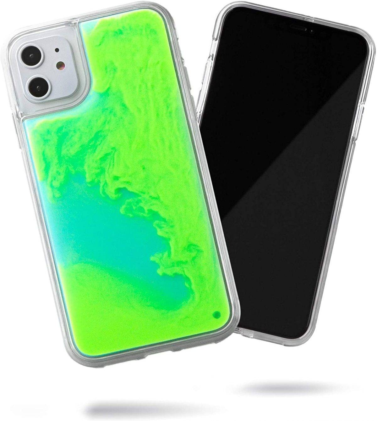 Trenx Exclusive Neon Sand Case for iPhone 12 (Lime Sorbet)