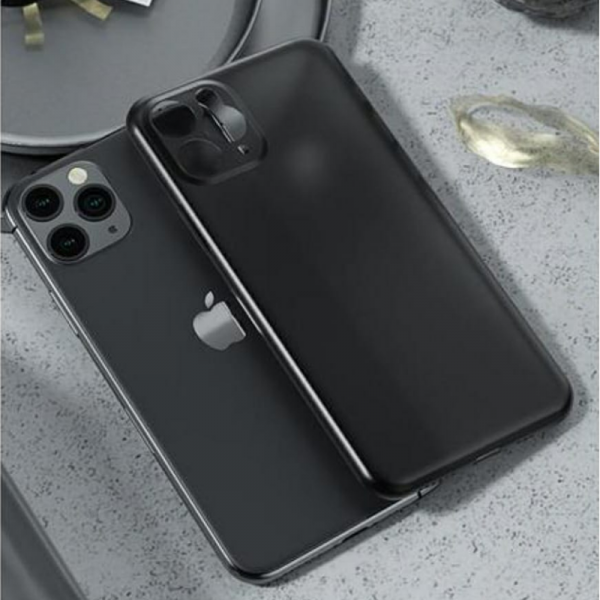 Trenx Hybrid Ultra Thin Matte Case for iPhone 11 (Black)