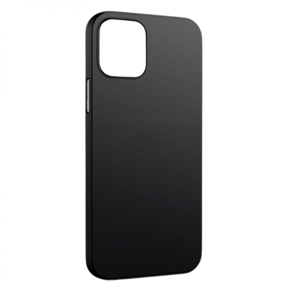 Trenx Ultra Hybrid Matte Case for iPhone 12 (Black)